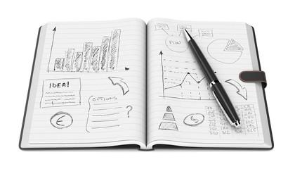 business plan concept