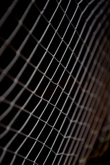 background texture of braided mesh