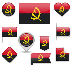 Angola Flag Collection