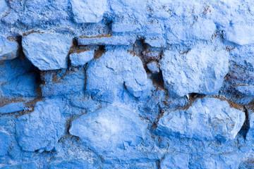 blaue Steine