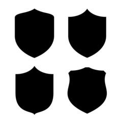 Shield vector shape