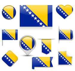Bosnia and Herzegovina Flag Collection
