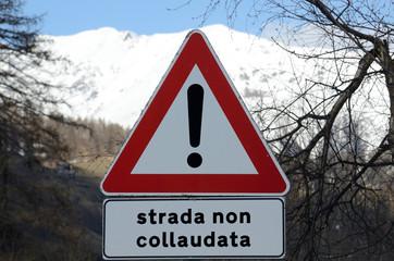 cartello pericolo
