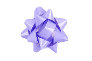 lilac color Bow From Top