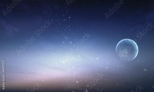 Fototapeta milky way galaxy with stars and night sky