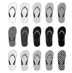 Vector Slippers set