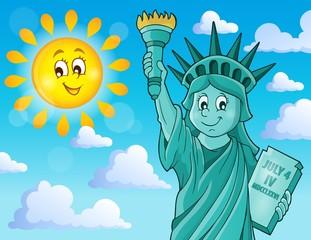 Statue of Liberty theme image 2