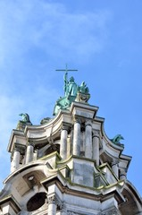 Top of Edwardian Town Hall