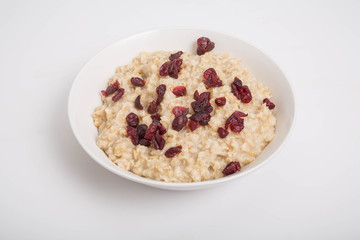 Oatmeal with Cranberries