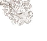 doodle art design background poster