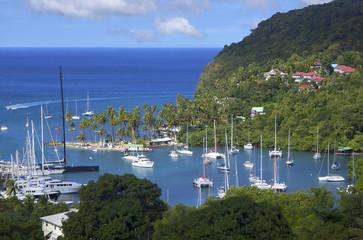 Карибы. Остров Сент-Люсия.