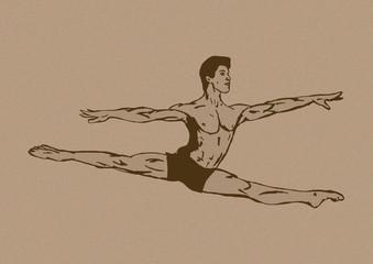 Classic ballet vintage