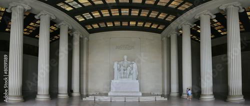 Poster Historisch mon. Lincoln Widescreen