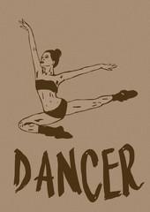 Dancer vintage