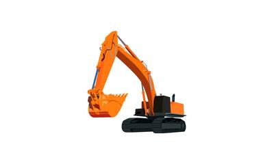 Excavator vector21