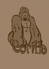 Gorilla vintage