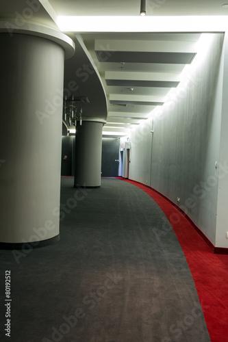 Modern interior. Tauron Arena Krakow in Poland - 80192512