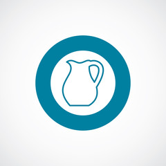 pitcher icon bold blue circle border