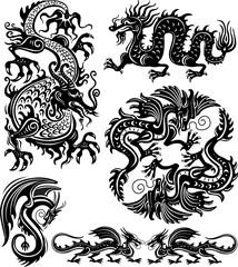 Set of dragon