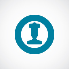 chef icon bold blue circle border
