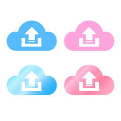 Icloud icon set