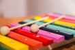 colorful wooden xylophone - 80199150