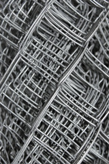 Steel mesh in multiple layers
