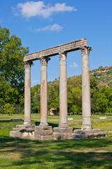 Ancient Roman Temple in Riez, France