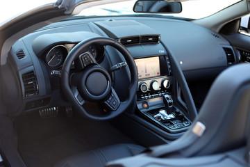 Interior eines Roadsters