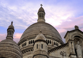 The Basilica of the Sacred Heart of Paris - detail
