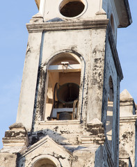 Bell detail from Guadalupe Church at Granada, Nicaragua