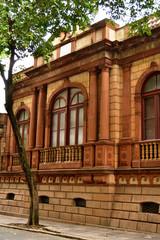 fachada de museu