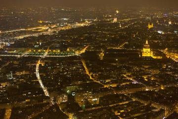 Night view of Paris