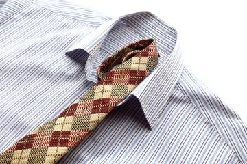 シャツとネクタイ