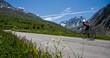 Vélo sur la route du galibier - 80206141