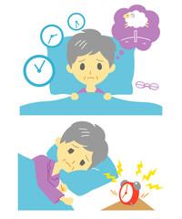 不眠症 おばあさん