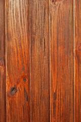 Parallel vertical wooden boards