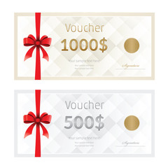 voucher, Coupon template, Gift certificate