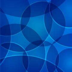 Vector abstract background with yellow circles