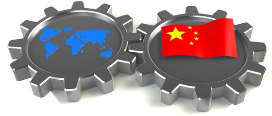 zusammenarbeit china welt