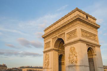 Arc de Triomphe, Paris, France. Top Europe Destination