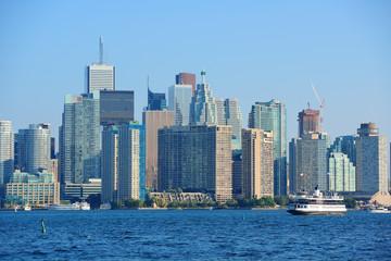 Toronto skyline in the day