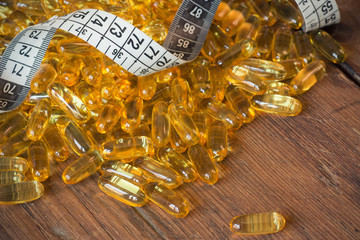 losing weight concept omega 3