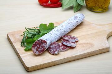 Spanish sausage - fuet