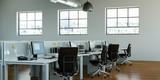 modernes Großraumbüro