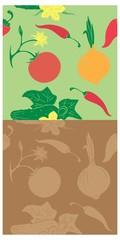 background vegetables