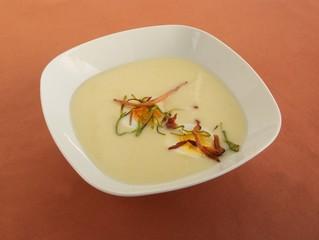 horseradish cream soup for Easter