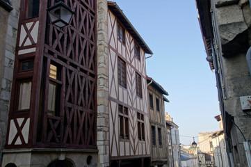 dans les rues de Poitiers