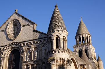 détail de l'église Notre-Dame-la-Grande de Poitiers