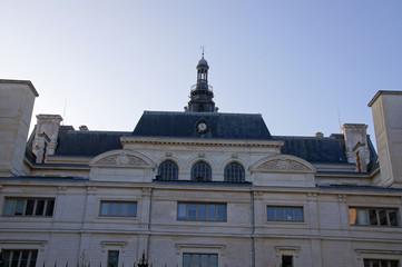 Arrière de l'Hôtel de ville de Poitiers